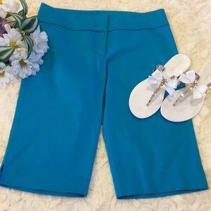 New! Cache Teal Blue Bermuda Shorts.
